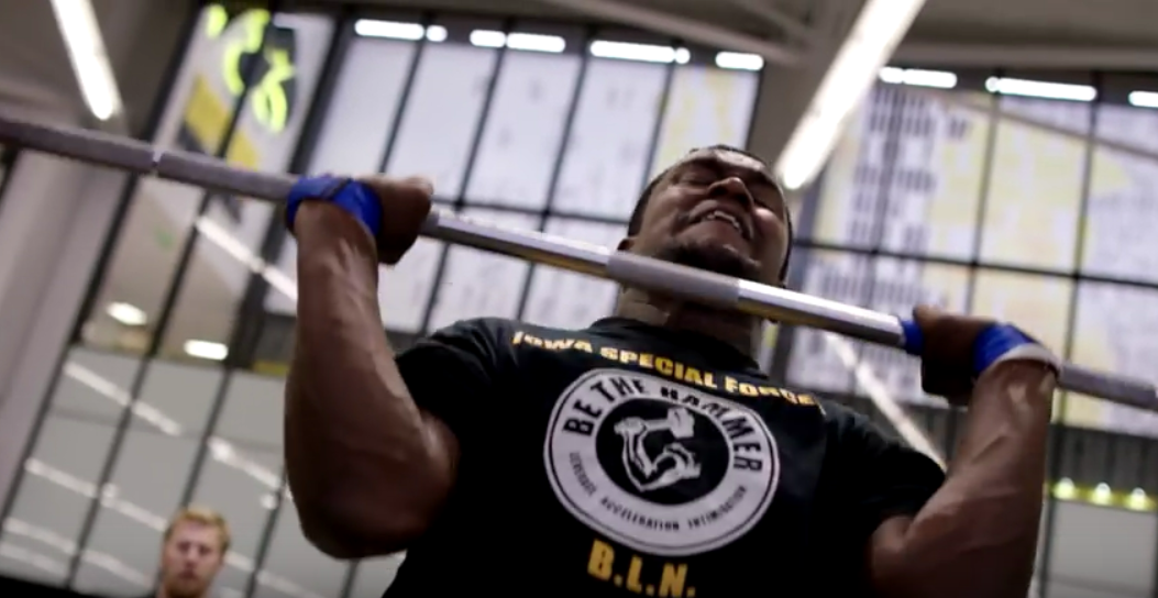 VIDEO: IOWA FOOTBALL STRENGTH TRAINING | Go Iowa Awesome