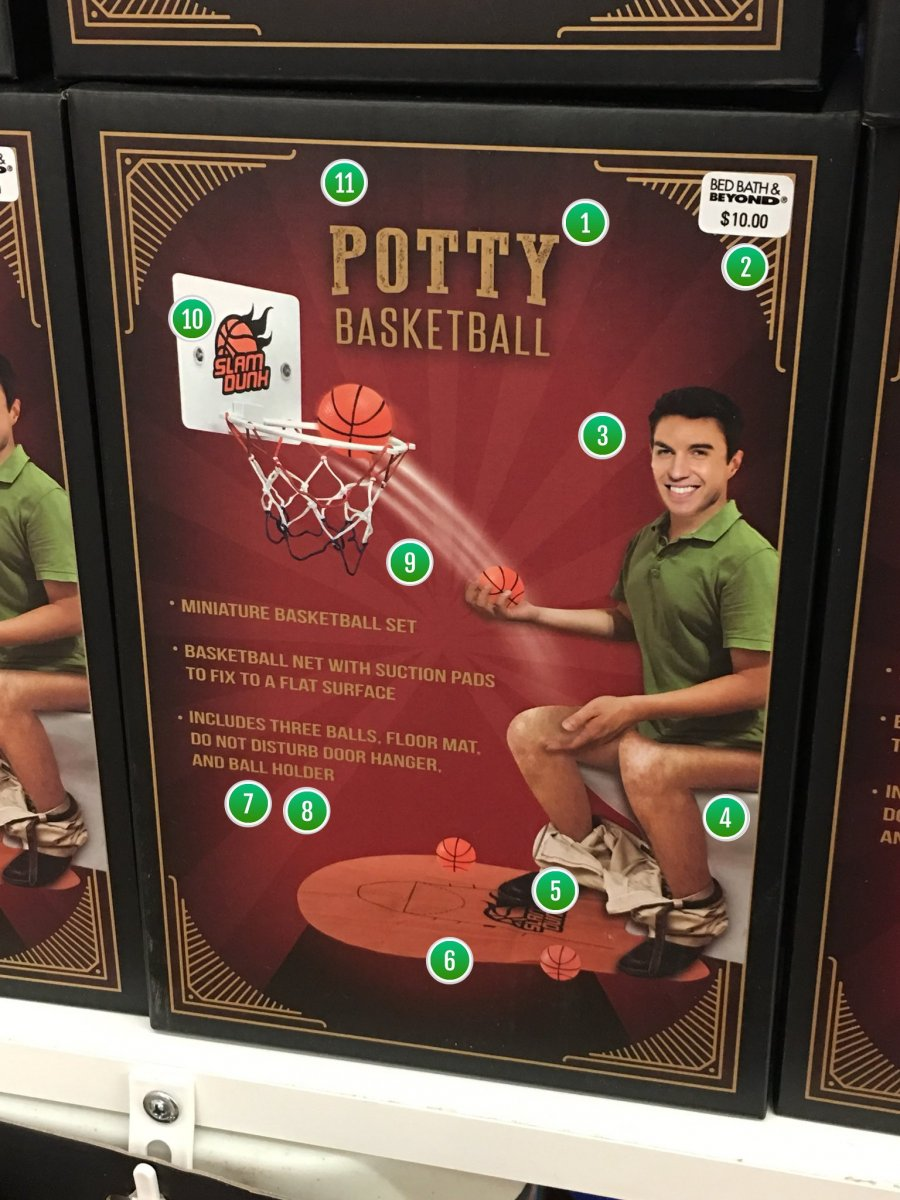 Potty Basketball