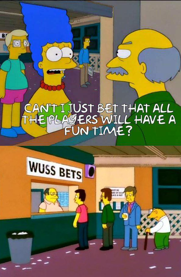 "Wuss Bets (""Simpsons"")"