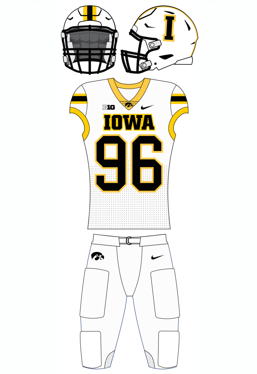 Iowa alternate uniform idea