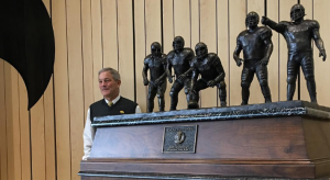 This trophy could double as Kirk Ferentz's mausoleum.