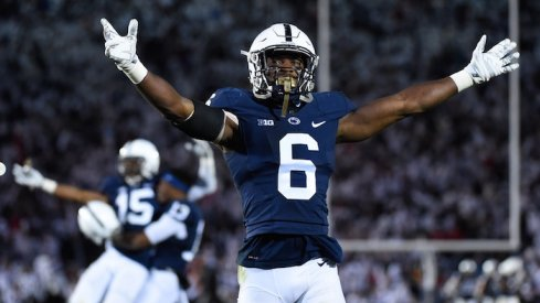 Penn State infused some chaos into the race for the Big Ten East, while nothing changed in the West.