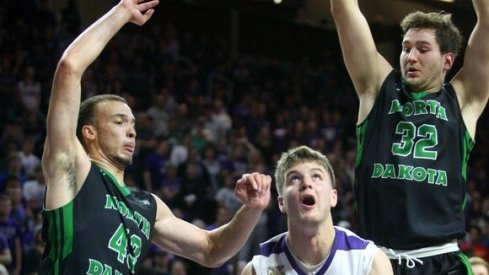North Dakota players spread their wings