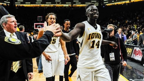 Great offense, and an improved second half defense helped Iowa get revenge over #17 Purdue at home.
