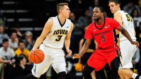 It's all offense vs. all defense, as Iowa attempts to get their first road win of the season at Rutgers.