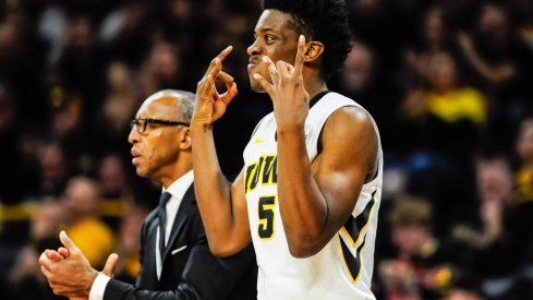 Tyler Cook is excited to watch Iowa basketball