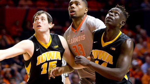 Iowa looks to move to 3-0 in revenge games this year, as Illinois visits Carver-Hawkeye arena tomorrow.