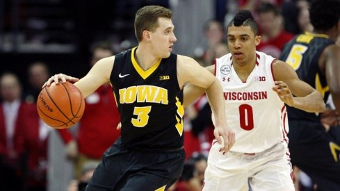Three-pointers -- specifically Jordan Bohannon's game-winning one -- helped Iowa upset the Badgers on the road.
