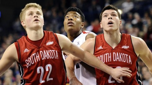 Tonight's game should be a track meet, as Iowa hosts South Dakota in the first round of the NIT.