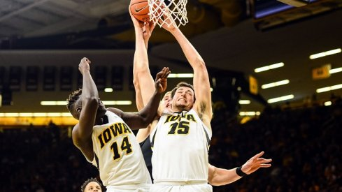 Ryan Kriener showed a lot of potential as a freshman, but Iowa's forward-heavy roster made it difficult for him to really break through.