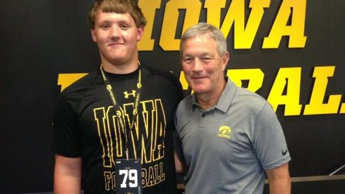 Tyler Endres and some guy who's been around Iowa City for 20 years.