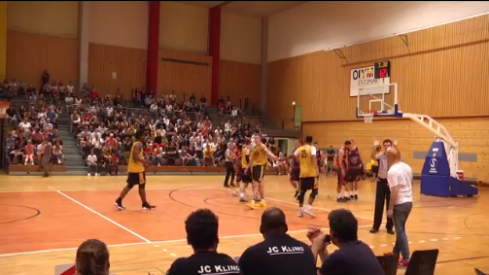 Iowa hoops in action in Germany