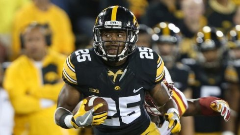 Akrum Wadley, ready to run down another upset.