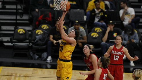 Iowa Cruised to an 85-56 Victory in their Exhibition Opener