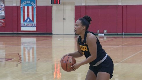 Alexis Sevillian led Iowa with 21 points and 5 three pointers