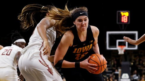 Megan Gustafson's Huge Night Not Enough for Iowa