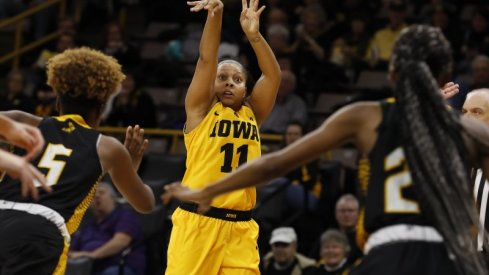 Iowa rolled to an easy victory over Arkansas-Pine Bluff