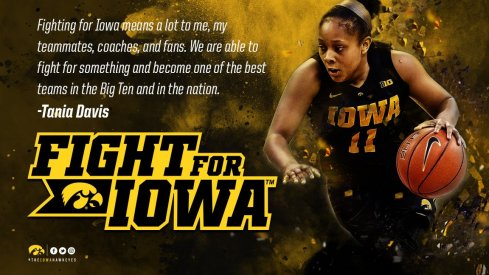 Iowa will have to fight on without Tania Davis this year