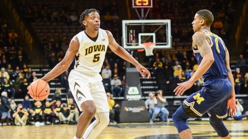 Tyler Cook's offense wasn't enough to overcome early defensive struggles for Iowa.