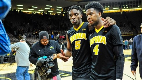 Iowa continued to look like a last place Big Ten team against Ohio State Thursday night.
