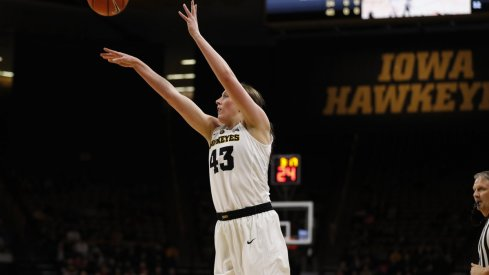 Iowa fell to Purdue despite 37 points and 14 rebounds from Megan Gustafson