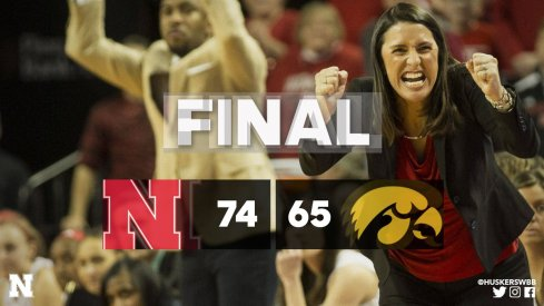 Iowa suffers a second consecutive defeat, this time on the road at Nebraska