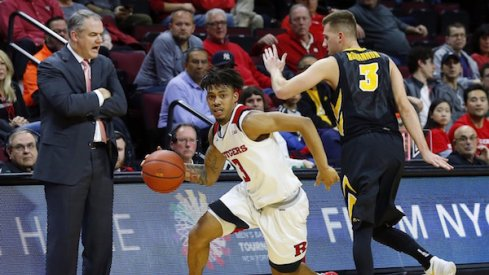 Rutgers' defense stymied Iowa's offense, while Iowa's defense made Rutgers' offense look like the Harlem Globetrotters.