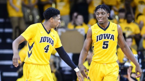 As it turns out, Iowa is actually pretty good when they play defense and aren't turning the ball over.