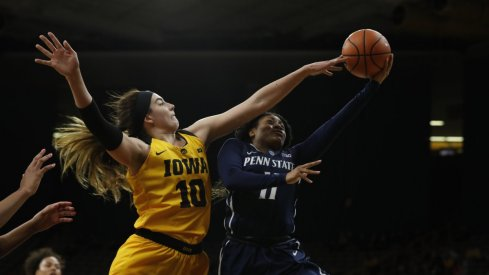Megan Gustafson and the Hawkeyes were too much for Penn State