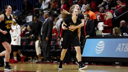 Iowa defeated Rutgers despite being down 9 points with 3 minutes remaining