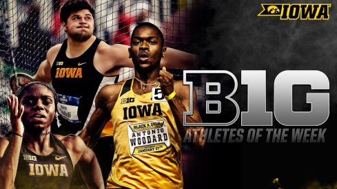 A good week for Iowa track and field