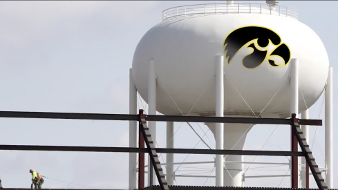 A PAINTED WATER TOWER?