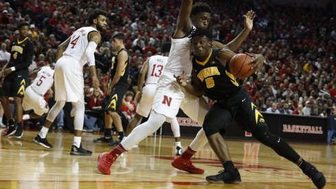 Tyler Cook goes to work on #Nebrasketball