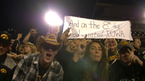 go iowa fans awesome