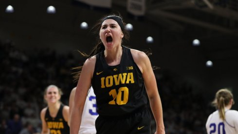 Megan Gustafson put up 44 points and 14 rebounds in Iowa's win over Drake