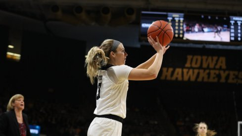 Iowa rebounded from a tough loss with a 20 point victory over Penn State