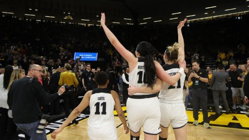 Iowa beat Missouri 68-52 to advance to the Sweet 16
