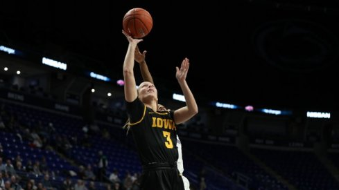 Iowa got another road victory with a 77-66 win over Penn State