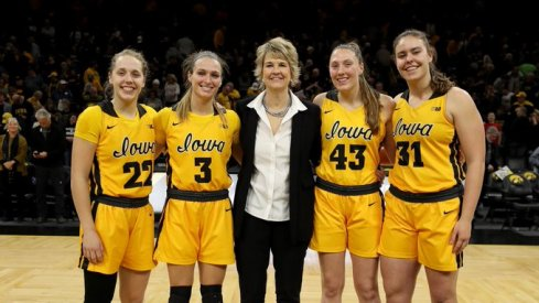 Iowa defeated Minnesota 90-82 on Senior Night for its 36th consecutive home victory