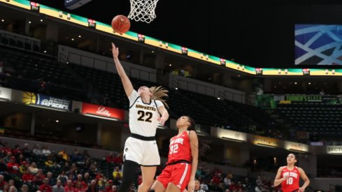 Iowa fell in its Big Ten Tournament opener against Ohio State