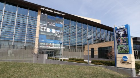 NCAA headquarters in Indianapolis, IN