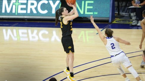 Caitlin Clark scored 30 points to lead Iowa in a wild 103-97 victory at Drake