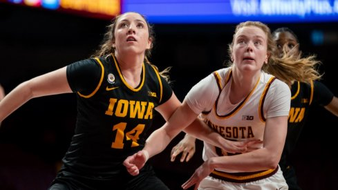 Iowa earned a much-needed victory on the road at Minnesota