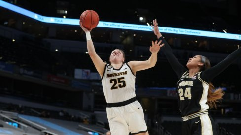 Monika Czinano scored a career high 38 points in Iowa's win over Purdue