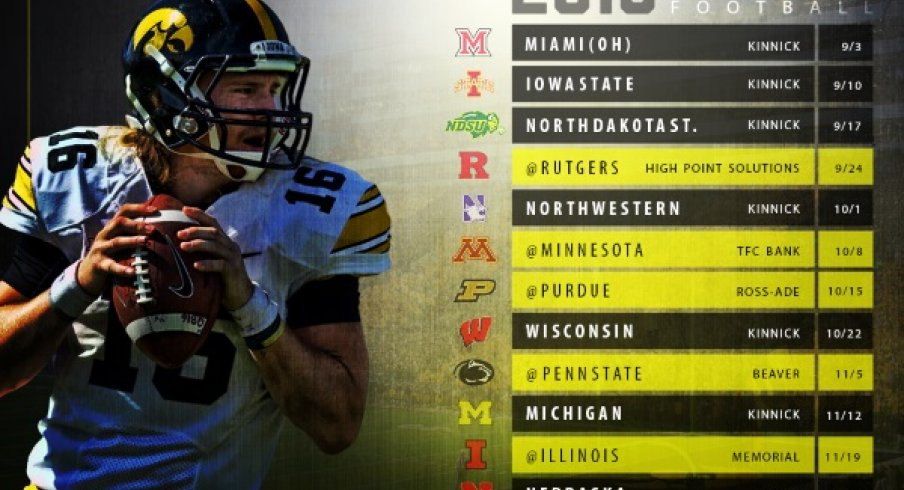 Get Your Iowa Football Schedule Wallpaper And Posters Go