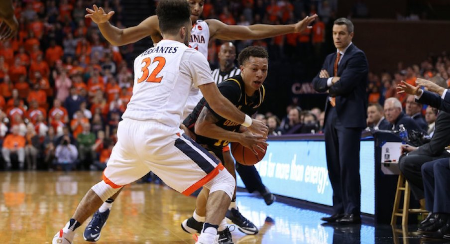 Iowa takes on Virginia and their stingy defense in the Emerald Coast Classic.