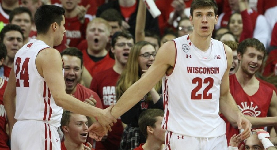Iowa goes for their second straight nationally televised upset of a ranked opponent tonight, as they take on the slumping Badgers in the Kohl Center.