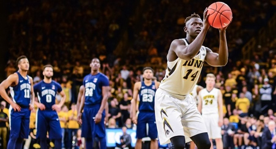 Threes and offensive rebounds were again the key to Iowa's victory on Sunday.