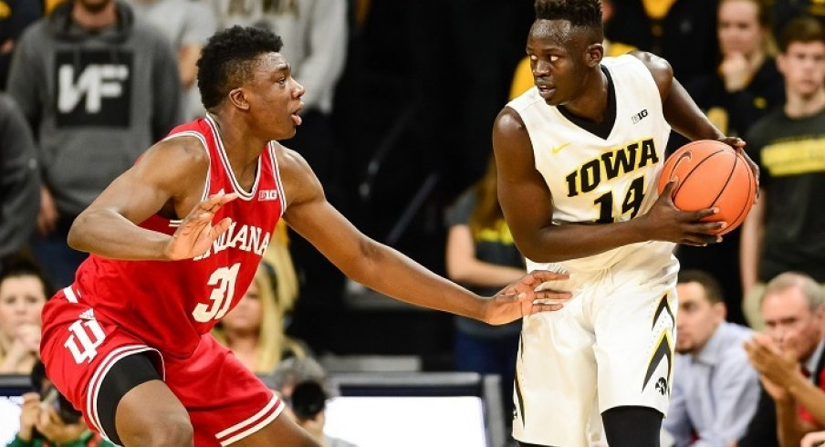 Iowa looks to break their recent Big Ten Tournament curse tonight with a win over Indiana in Washington, D.C.