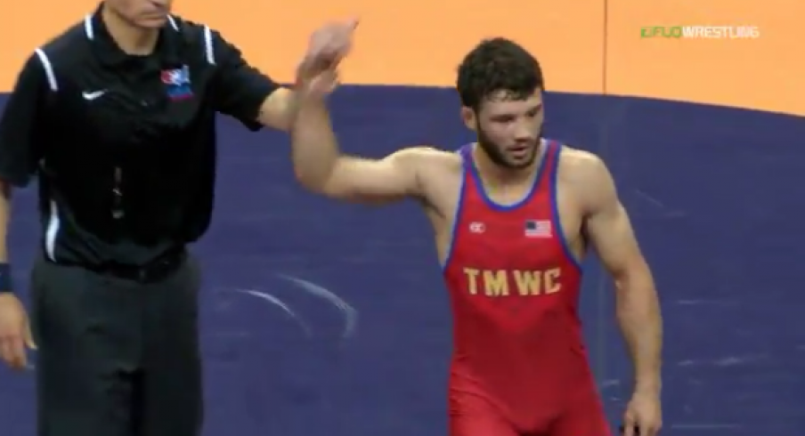 Gilman: king of the hill at 57 KG